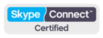 Skype Connect certified logo