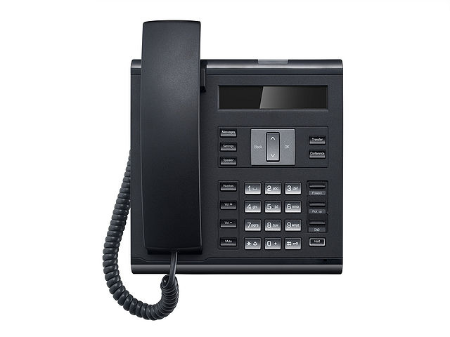 Unify OpenScape Desk Phone IP 35G text schwarz