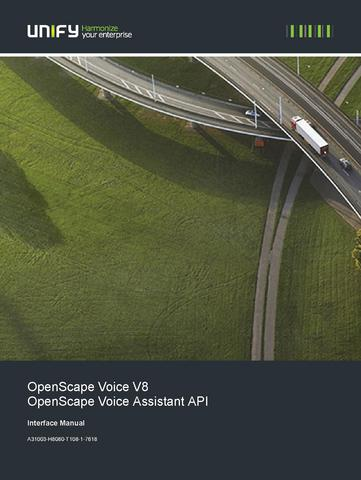 File:OpenScape Voice V8, Assistant API Interface Manual.pdf