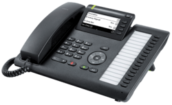OpenScape Desk Phone CP400 perspective view low.png